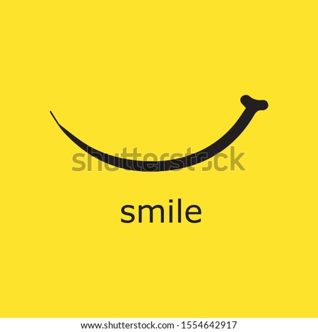 Smile icon Logo Vector Template Design Royalty-Free Stock Photo #1554642917