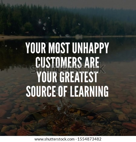 business quote and customer service quote for achievement. social media post template. inspirational quotes and motivational quotes #1554873482