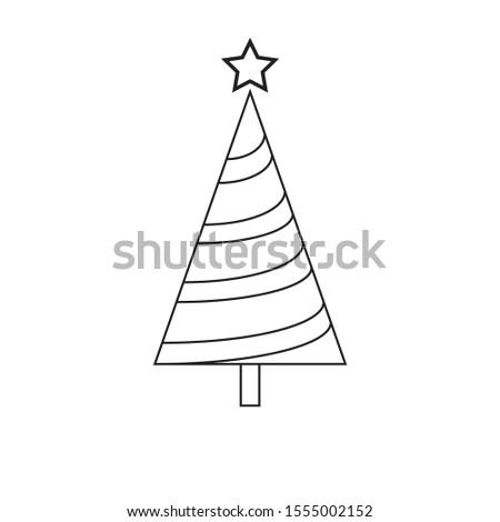 christmas tree decoration, pine flat icon, christmas icon  #1555002152