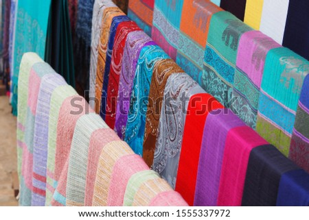 Native colors, bright colors for use as scarves #1555337972