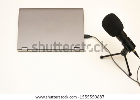 simply equipment for a podcast #1555550687