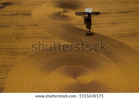 traditional wheat drying and shapes  #1555636571