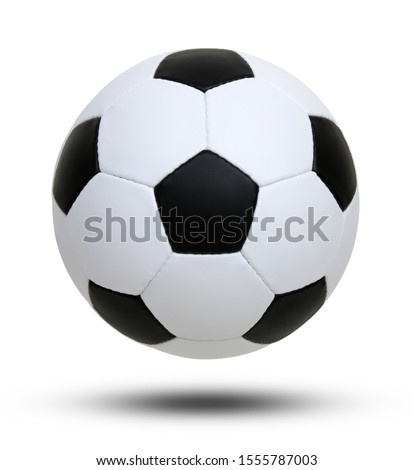 soccer ball isolated on white background #1555787003