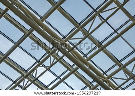 steel construction space roof system #1556297219