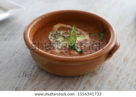 Dal Makhani in a bowl #1556341733