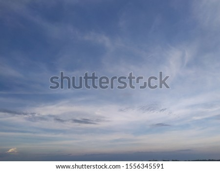 Bright sky with beautiful clouds #1556345591