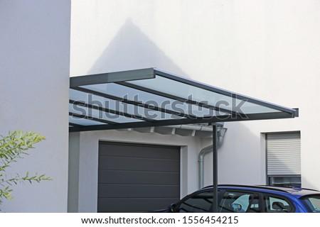High-quality carport made of aluminum  #1556454215