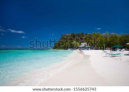 Long Bay in Antigua, Caribbean #1556625743