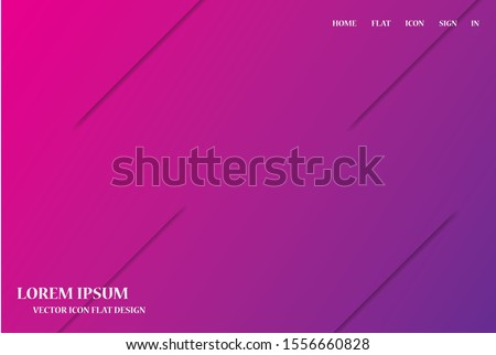 background. Icon Dynamic composition of figures. Minimal geometric abstract background. Futuristic design gradient shapes. Creative illustration perfect for cover. EPS10 Vector #1556660828