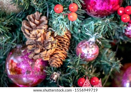 Christmas decorations; Xmas decoration; Xmas background #1556949719