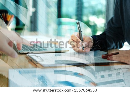 candidate applicant fill out application form. man signing contract agreement. employment recruitment concept #1557064550