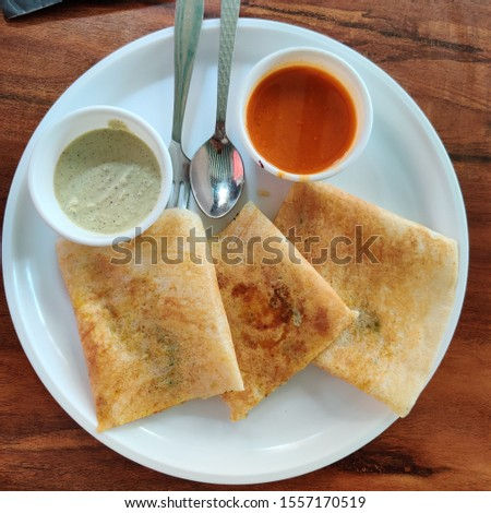 Masala Dosa, One of the best dish. Indian Dish #1557170519