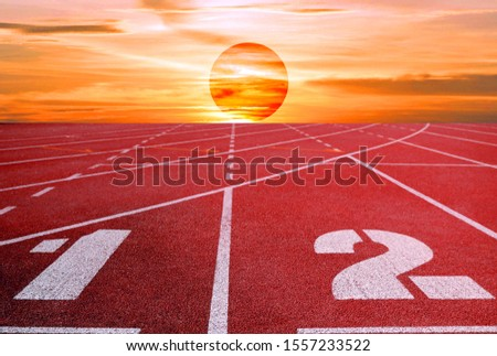 Running track for the athletes background, Athlete Track or Running Track #1557233522