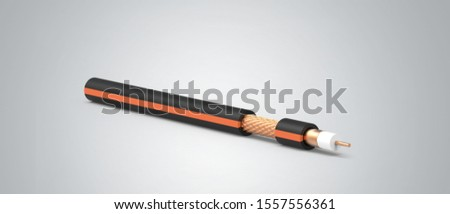 Coaxial Cable RG6 TV Copper #1557556361