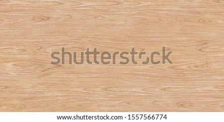 Light brown soft varnished wood texture surface as background. Grunge washed wooden planks table pattern top view. #1557566774
