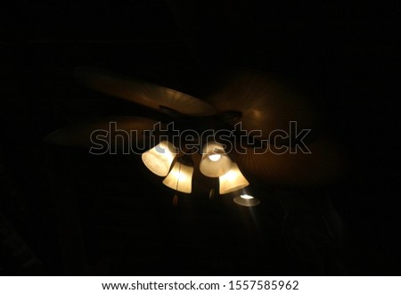 Light lamp on night party #1557585962