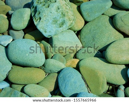 beautiful scenery of gravel texture #1557665966