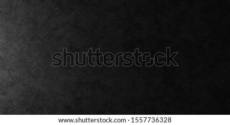 Dark black vintage texture wall scratch blurred stain. Design photo studio banner website soft light edge. 3D rendering
