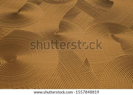 Dryed wheat under the sunlight #1557848819