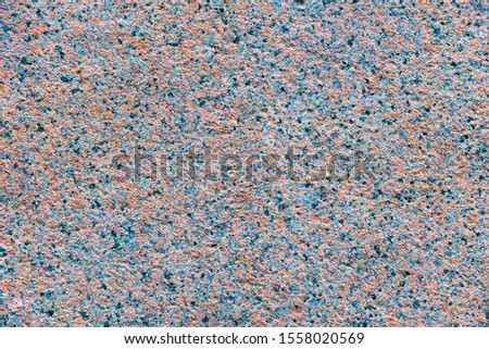 Granite texture, red base color with blue, black and gray spots. Floor material, wall material, construction material #1558020569