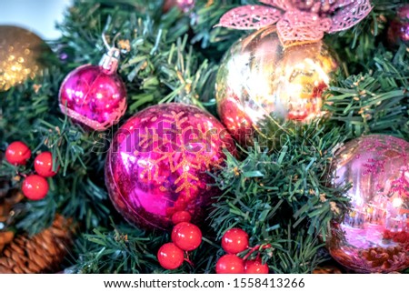 Christmas decorations; Xmas decoration; Xmas background #1558413266
