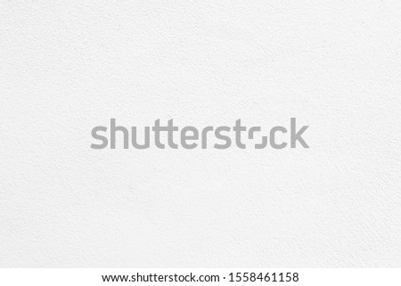 White cement or concrete wall. Paper, texture for background.  #1558461158