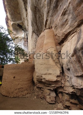 Ancient cliff dwellings in north eastern Burkina Faso #1558946396