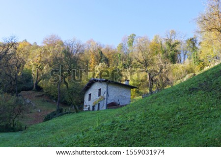 Trekking in the villages of Zogno val brembana mountain orobie alps #1559031974