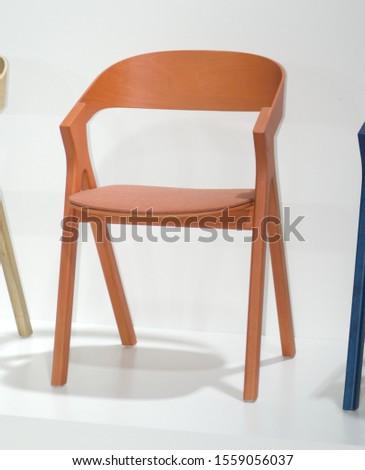a modern design wooden chair #1559056037