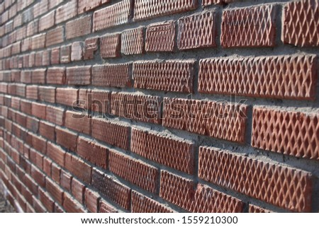 brick rough rough wall with uneven surface building background #1559210300