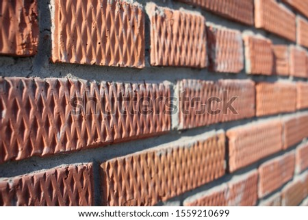 brick rough rough wall with uneven surface building background #1559210699