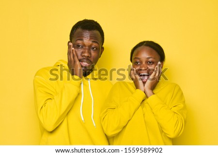 Man and woman emotions studio family relationship #1559589902