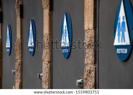 Restrooms at the Laguna Niguel Regional Park #1559803751