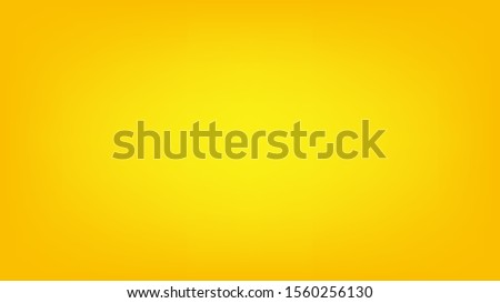 Blurred background. Abstract yellow gradient design. Minimal creative background. Landing page blurred cover. Colorful graphic. Vector #1560256130