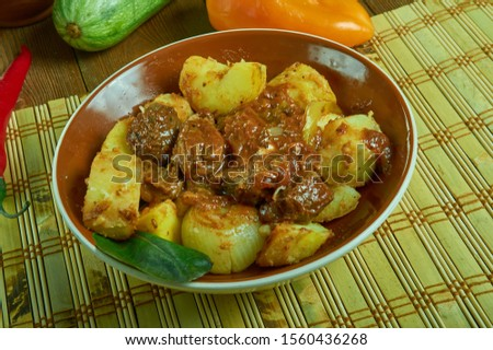 Asado de Bodas, Wedding Stew, delicious stew is often served at weddings in Northern Mexico  #1560436268