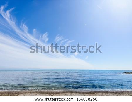 Seaside Landscape clouds