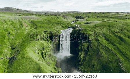 Summer trip around green and epic counrty Iceland with my waterfalls rivers lakes and nature some green pictures with nature of island Iceland