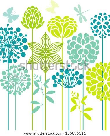 Decorative flowers #156095111