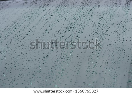 rain drops water drops on glass #1560965327