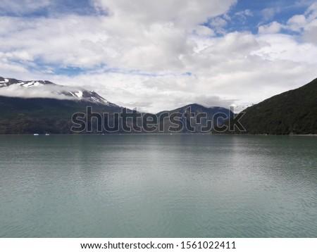 Landscape Glacier National Park Patagonia Argentina Lake Argentina mountains #1561022411