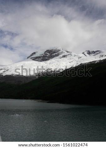 Landscape Glacier National Park Patagonia Argentina Lake Argentina mountains #1561022474