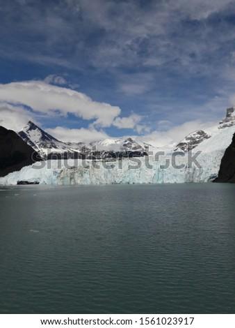 Glacier Landscape Glacier National Park Patagonia Argentina Lake Argentina mountains #1561023917