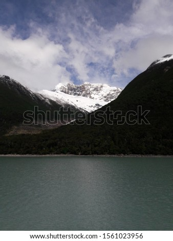 Glacier Landscape Glacier National Park Patagonia Argentina Lake Argentina mountains #1561023956