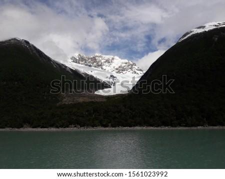 Glacier Landscape Glacier National Park Patagonia Argentina Lake Argentina mountains #1561023992