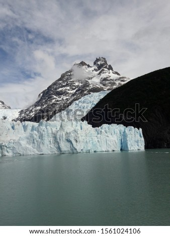 Glacier Landscape Glacier National Park Patagonia Argentina Lake Argentina mountains #1561024106
