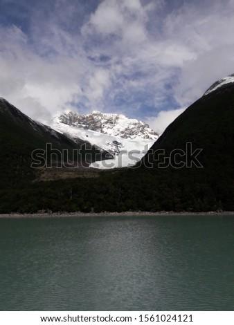 Glacier Landscape Glacier National Park Patagonia Argentina Lake Argentina mountains #1561024121
