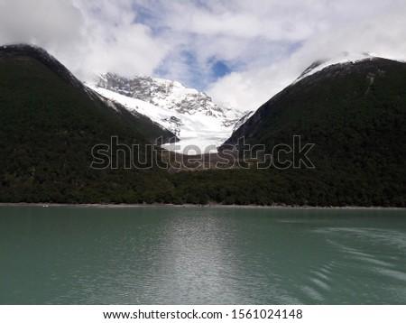 Glacier Landscape Glacier National Park Patagonia Argentina Lake Argentina mountains #1561024148