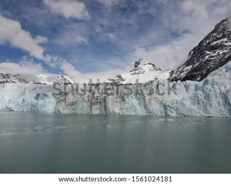 Glacier Landscape Glacier National Park Patagonia Argentina Lake Argentina mountains #1561024181