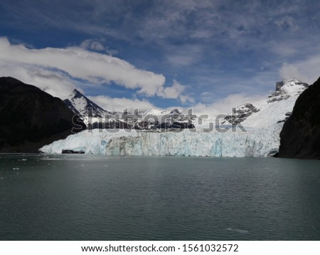 Glacier Landscape Glacier National Park Patagonia Argentina Lake Argentina mountains #1561032572