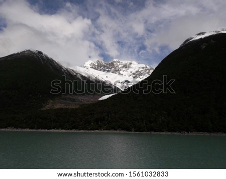 Glacier Landscape Glacier National Park Patagonia Argentina Lake Argentina mountains #1561032833